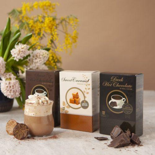 Trio Chocolate y caramelo